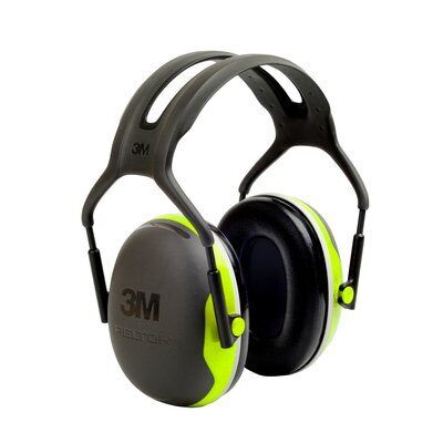 3M PELTOR X Series Premium Headband Earmuff