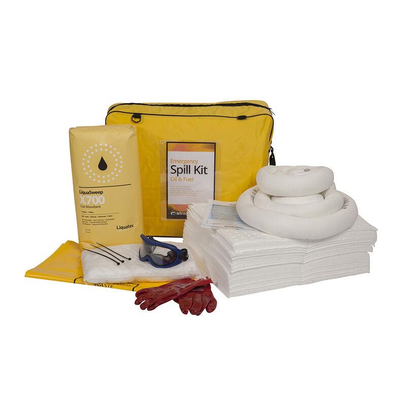 50L Oil + Fuel Spill Kit