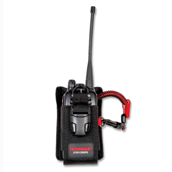 Adjustable Radio Holster with Lanyard And MicroCatch