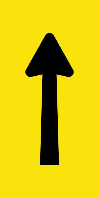 Arrow Lane Ahead Symbol Sign
