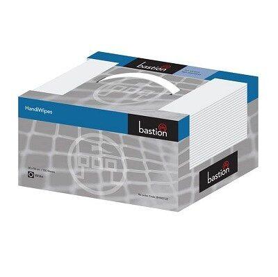 Bastion HandiWipes White Carry Box150 Sheets