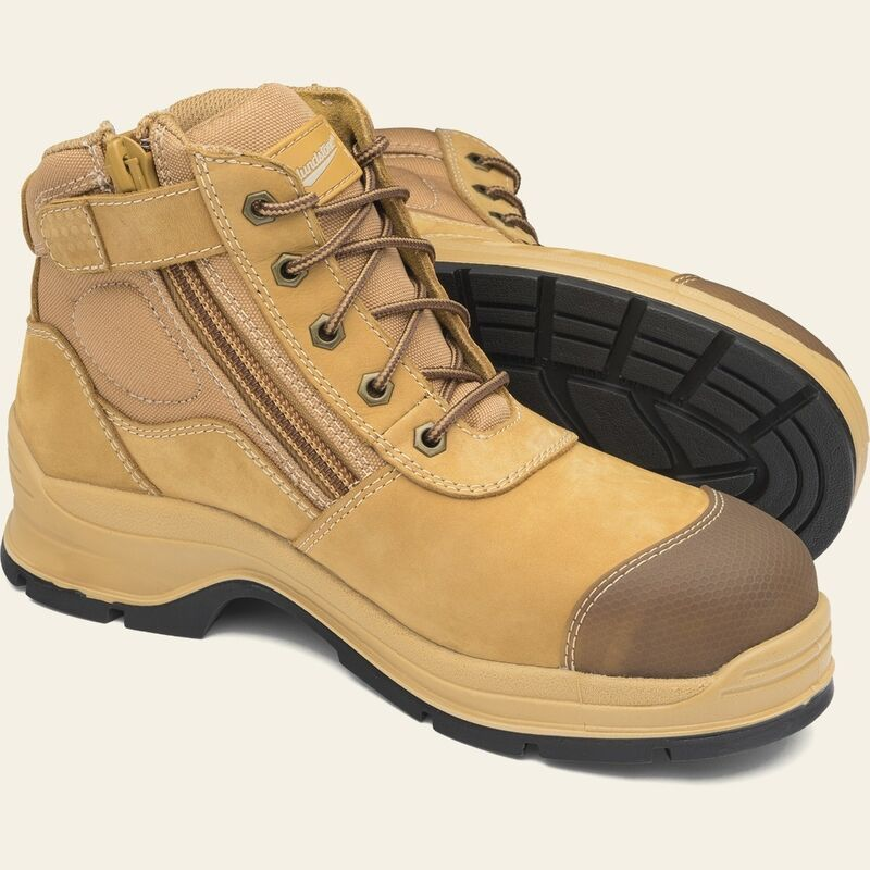 Blundstone 318 Zip Side Safety Boot