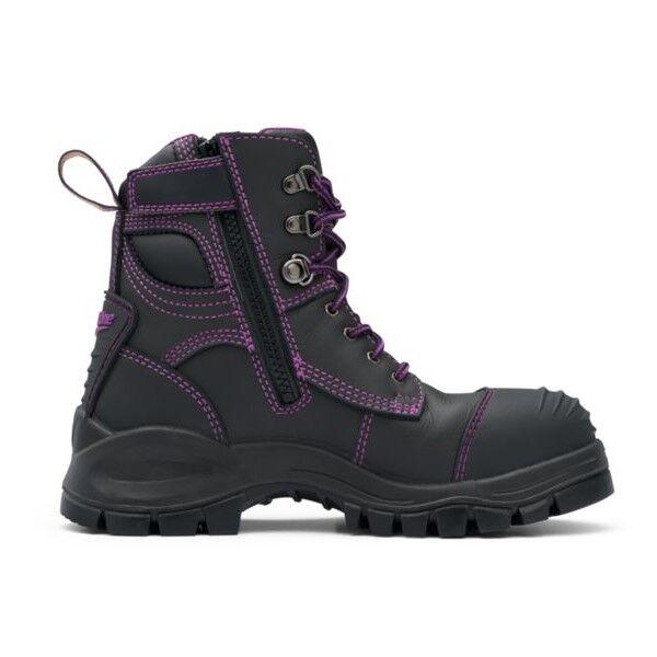 Blundstone 897 Women+39s Zip Safety Boot