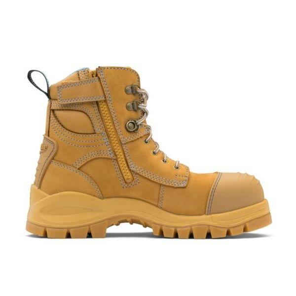 Blundstone Ladies Zip Safety Boot