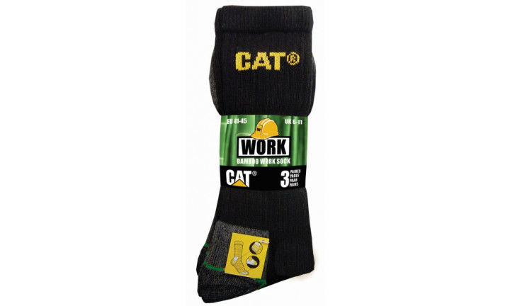 CAT BAMBOO SOCKS 3 PACK