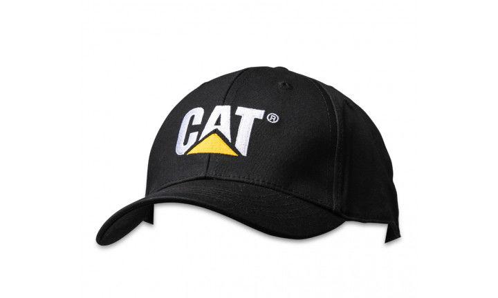 CAT Trademark Cap Black