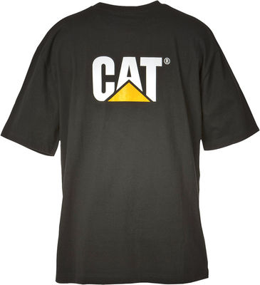A black CAT Trademark Tee