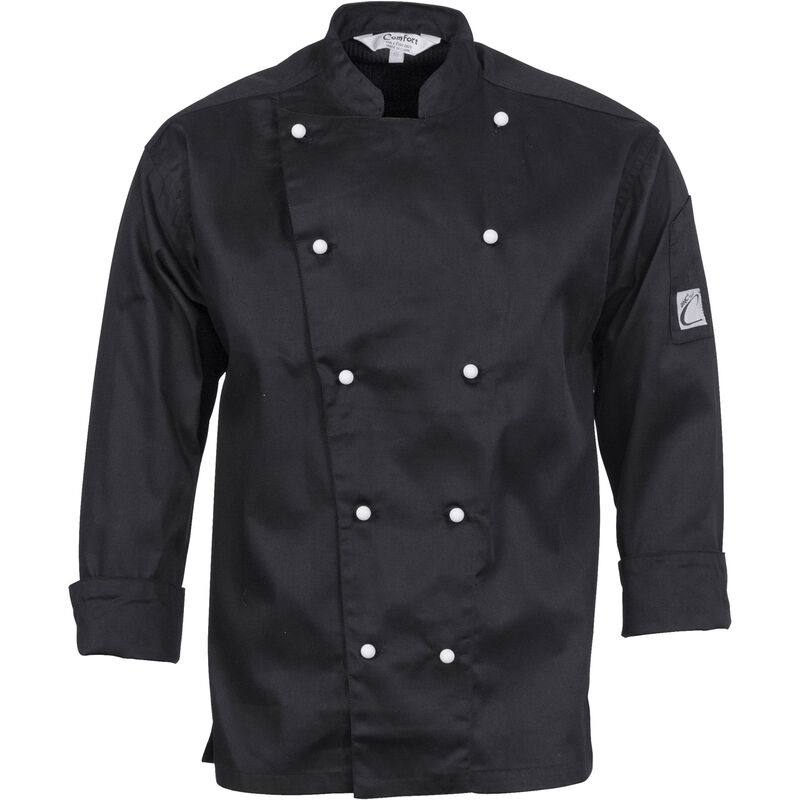 DNC Traditional Chef Jacket   Long Sleeve