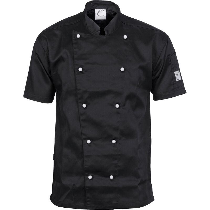 DNC Traditional Chef Jacket   Short Sleeve