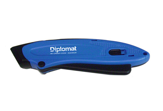 Diplomat Auto Retracting Safety Knife