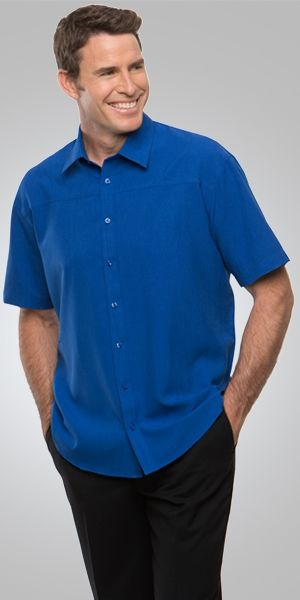 A man wearing a Ezylin shirt