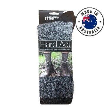 Hard Act WoolBambooCoolplus Boot Sock