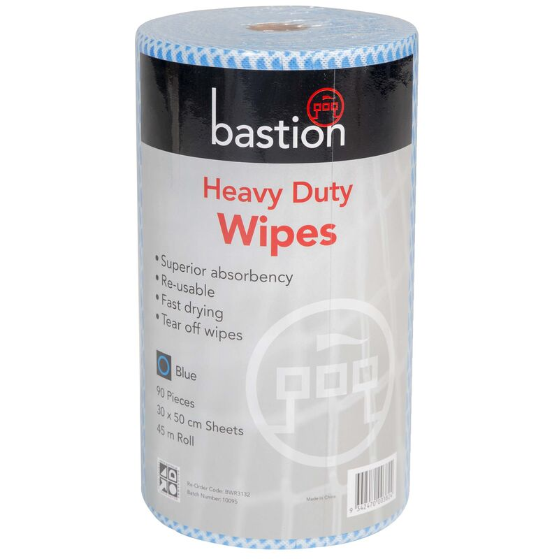 Heavy Duty Wipes Blue