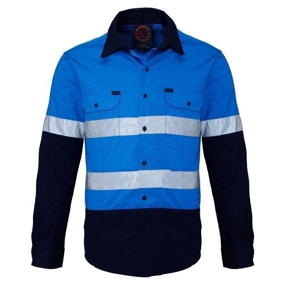Hi Vis Open Front LS Ref Shirt