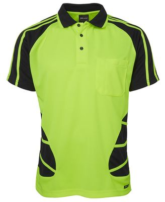 Hi Vis SS Spider Polo