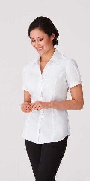 Ladies Short Sleeve City Stretch Shirt