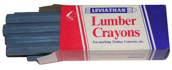 Leviathan Lumber Crayons Box 12