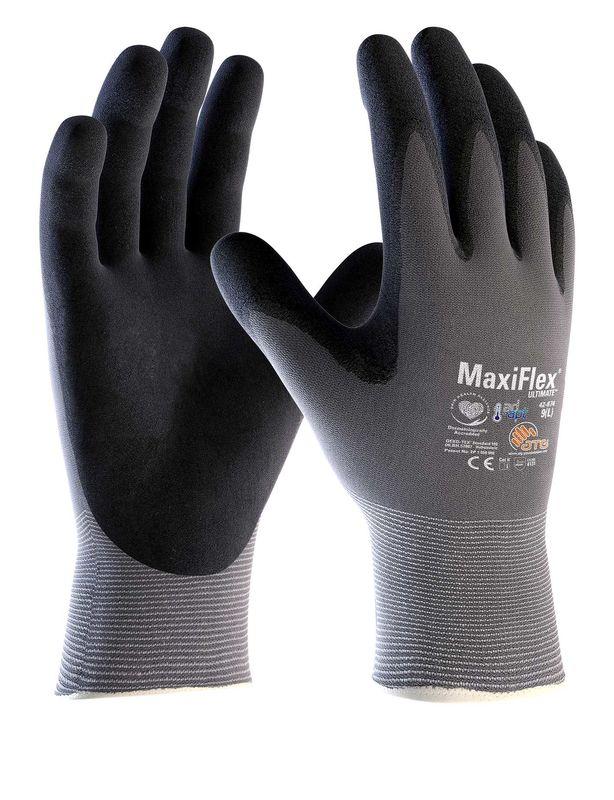 A pair of Maxiflex Gloves