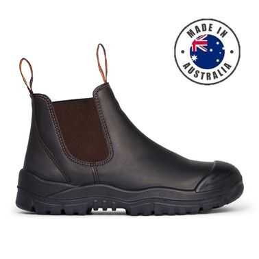 Mongrel Elastic Sided Safety Boot W Scuff Cap