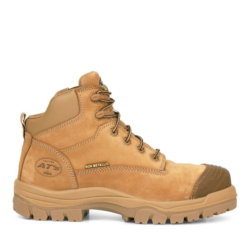 Oliver 130mm Stone Zip Sided Hiker Safety Boot