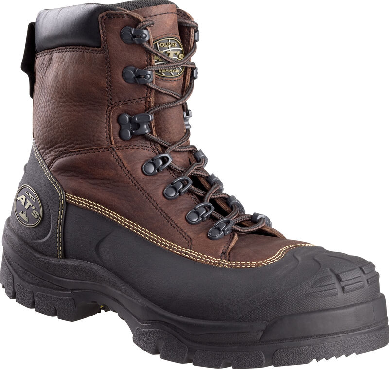 Oliver 65390 Caustic and Water Resistant Safety Boots