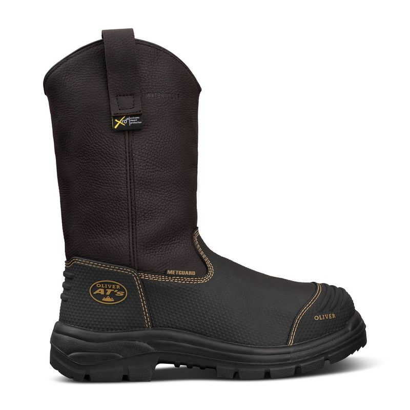 Oliver 65 493 240mm Brown Pull On Riggers Boot
