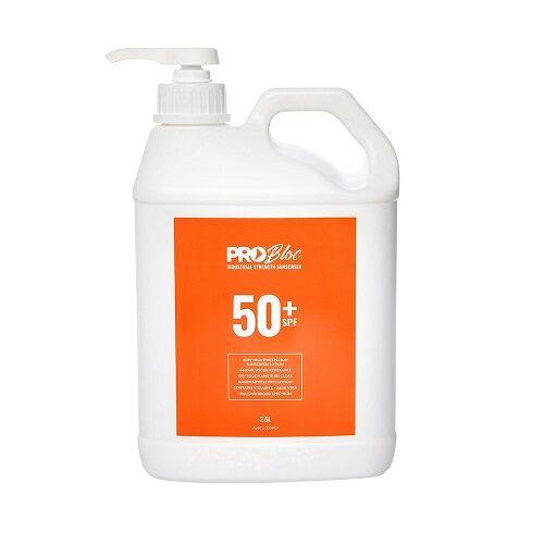 PROBLOC SPF 50 + Sunscreen 25L Pump Bottle