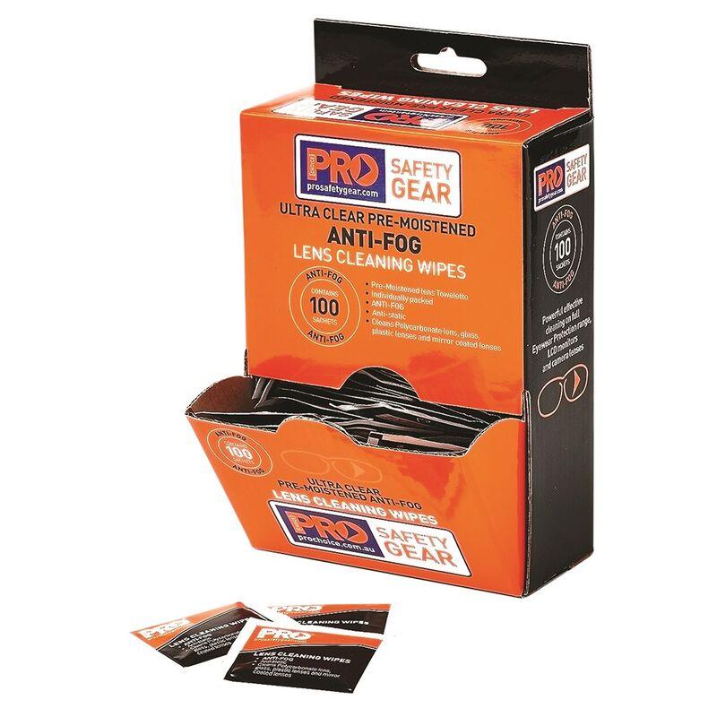 ProChoice Anti Fog Lens Wipes 100 Pack