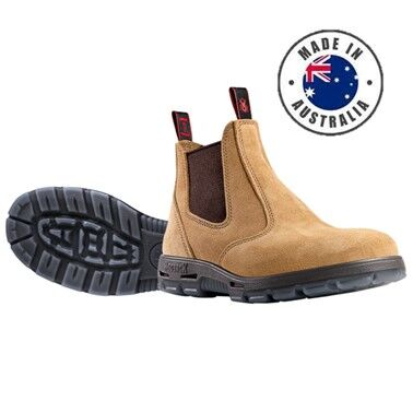 Redback Bobcat Elastic Sided Non Safety Work Boot