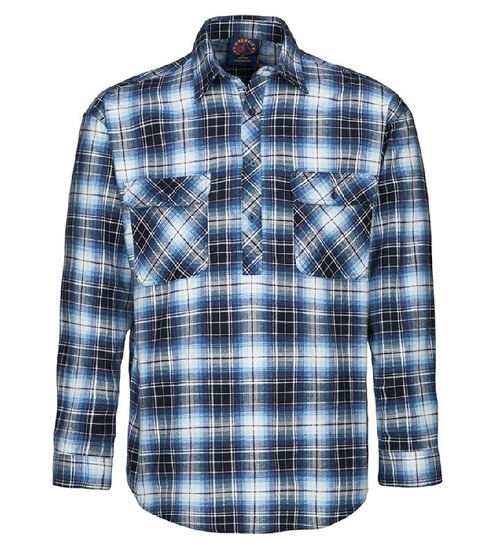 Ritemate Closed Front Flannelette Shirt