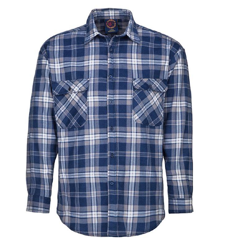 Ritemate Open Front Flannelette Shirt