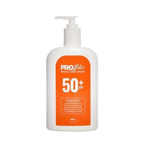 SPF 50 Sunscreen 500ml Bottle