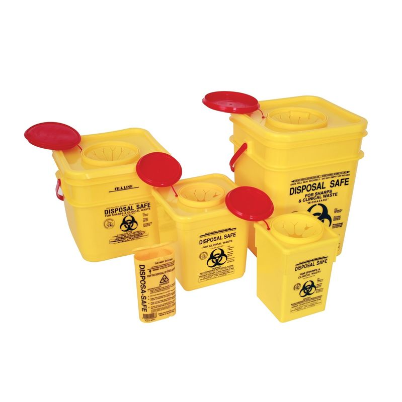 Sharps Container  Plastic 2L