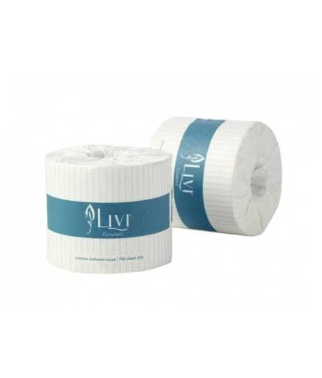 Toilet Paper Livi Essentials 2ply Box 48