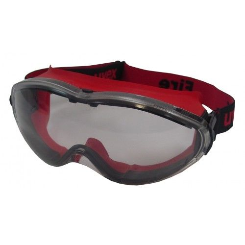 A pair of Uvex Fire Goggles
