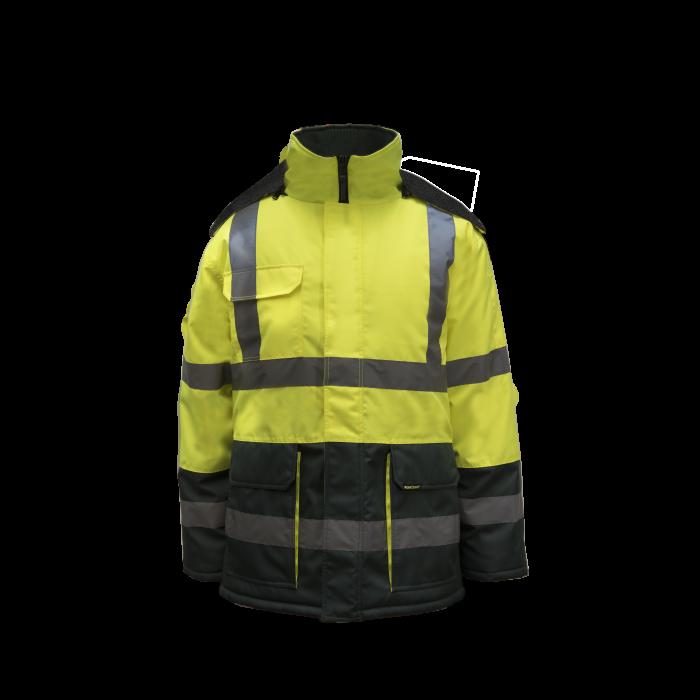 Workcraft HiVis Freezer Jacket