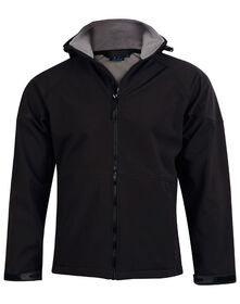 ASPEN Men's Softshell Hood Jacket