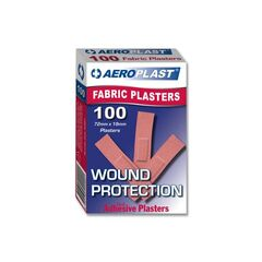 Adhesive Strips Fabric 100pk