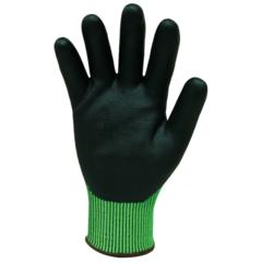 Bastion Hi Vis Green Cut 5 Gloves