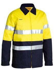 Bisley Reflective HiVis Drill Jacket