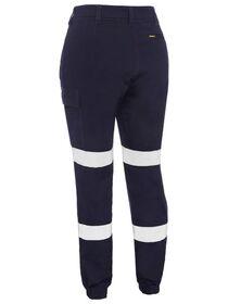 Bisley Womens Taped Cargo Cuffed Pants