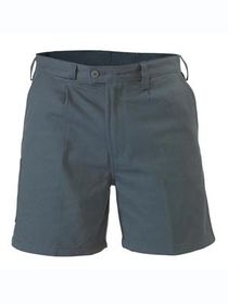 A paire of grey Bisley Work Shorts