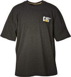Image of a CAT black Trademark Tee
