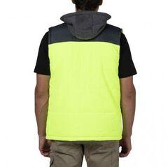CAT Hi-Vis Hooded Work Vest