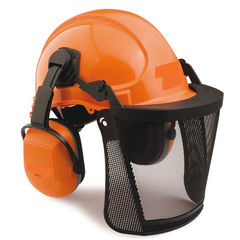 Chainsaw Helmet Combo