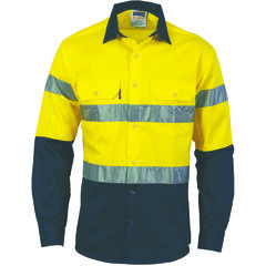 DNC HiVis Cool-Breeze L/S Shirt with R/Tape
