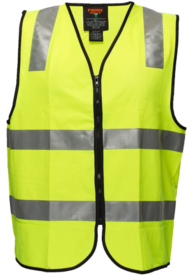 DayNight Safety Vest With Tape