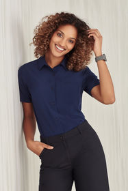 Ladies Easy Stretch Short Sleeve Shirt