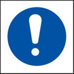 Exclamation Safety Sign