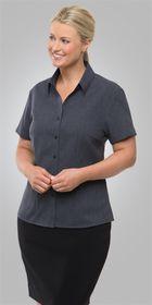 A woman wearing a Ezylin Ladies SS shirt